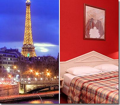 Hotel  Stelle Parigi Vicino Tour Eiffel